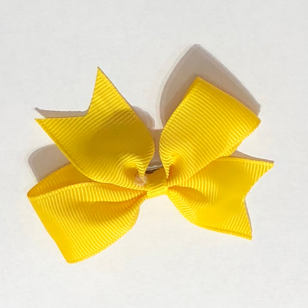 "Scarlett's Bows Lemon Grosgrain 2"" Bow"