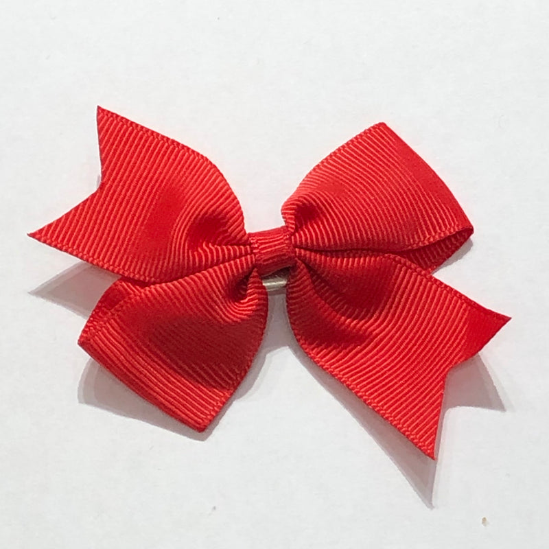 "Scarlett's Bows Burnt Red Grosgrain 2"" Bow"