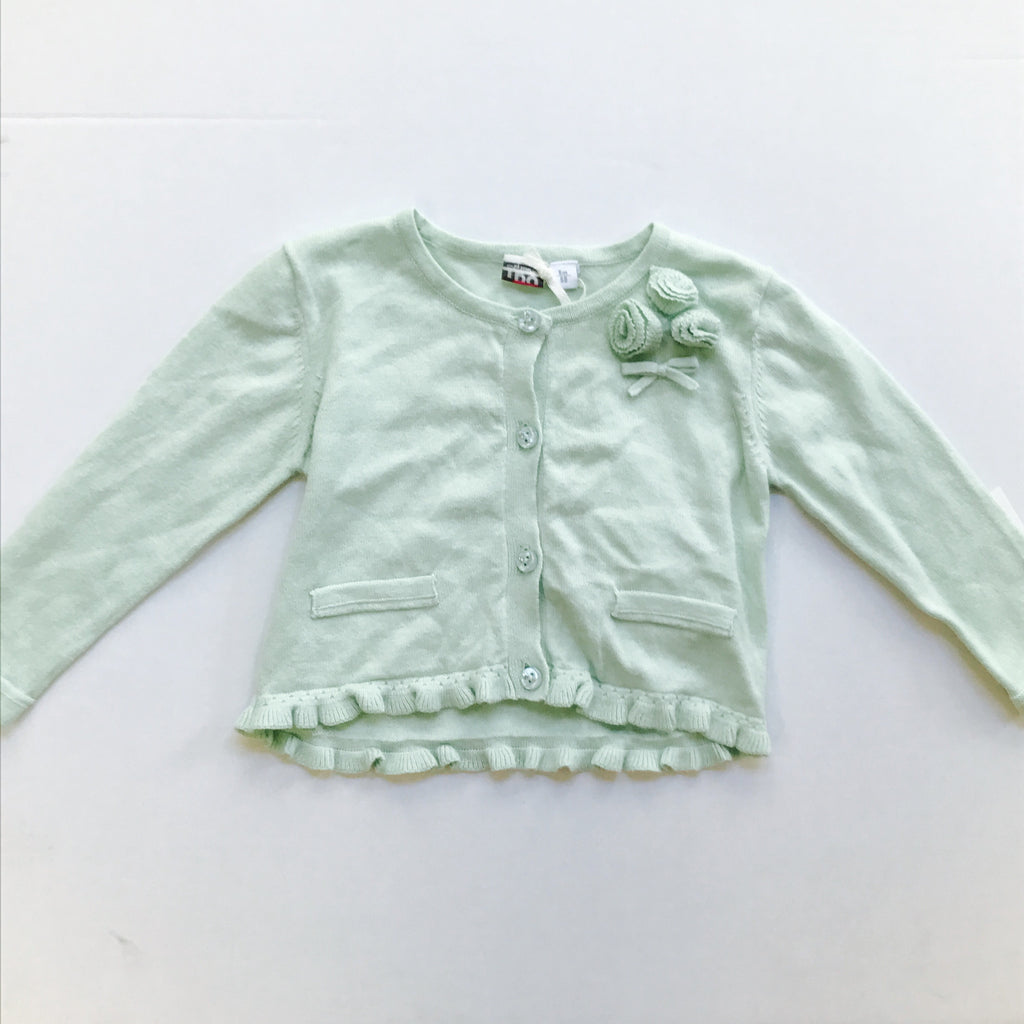 iDO Baby Girls Mint Knitted Cardigan - Scarlett's Bowtique