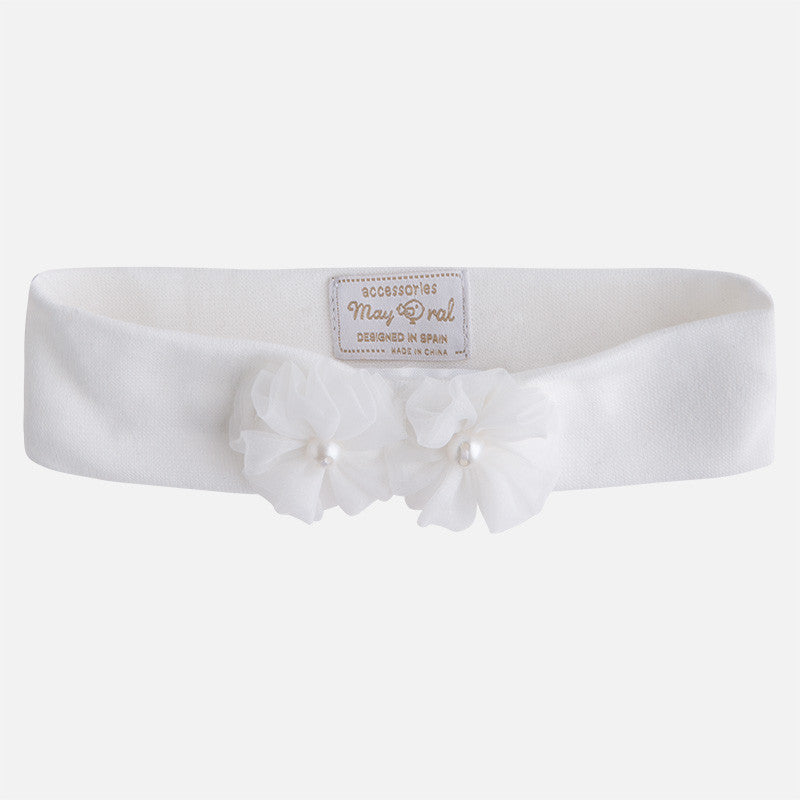 Mayoral Baby Girls Cream Head Band - Scarlett's Bowtique