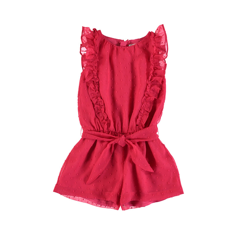 Strawberry Pink Playsuit