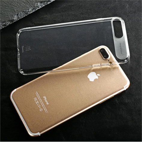 iPhone 7, 7 Plus Ultra Thin Crystal Clear Transparent Case
