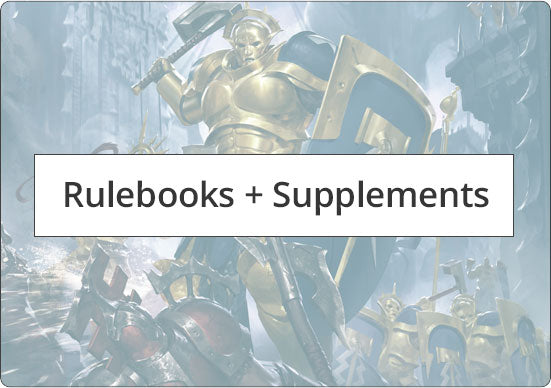 Warhammer rulebooks and supplements