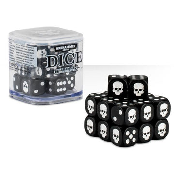 Games Workshop Dice Cube - Black
