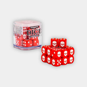 Games Workshop Dice Cube - Red