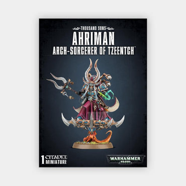 Thousand Sons Ahriman Arch-Sorcerer Of Tzeentch