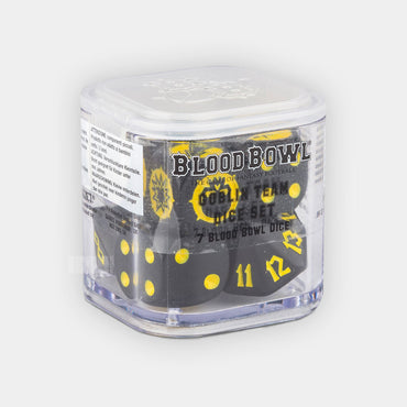 Blood Bowl Goblin Team Dice