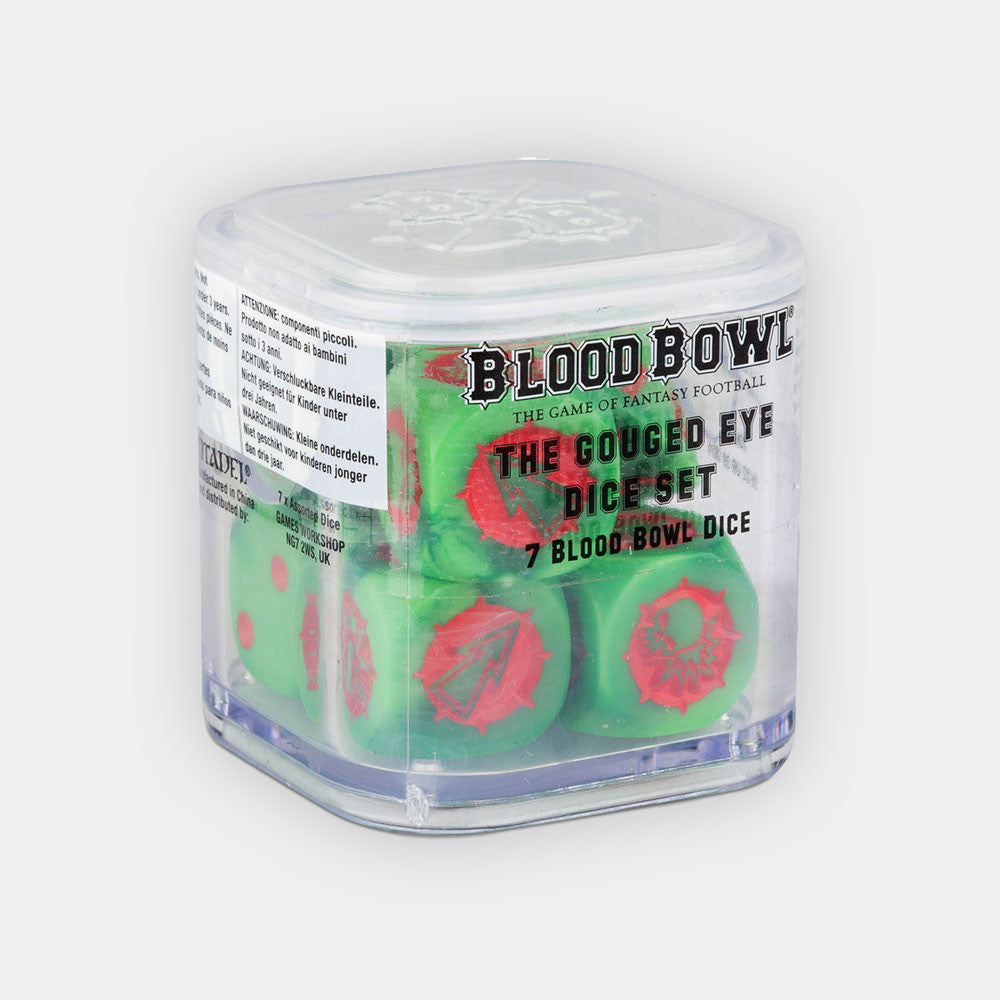 Blood Bowl The Gouged Eye Dice Set