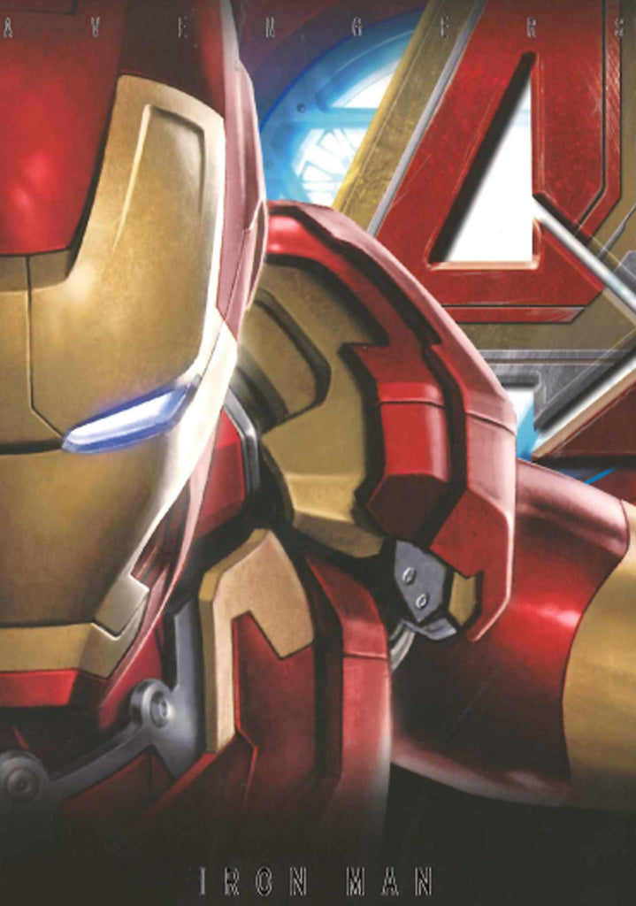 Beast Kingdom: Avengers Age of Ultron Post Card - Iron Man
