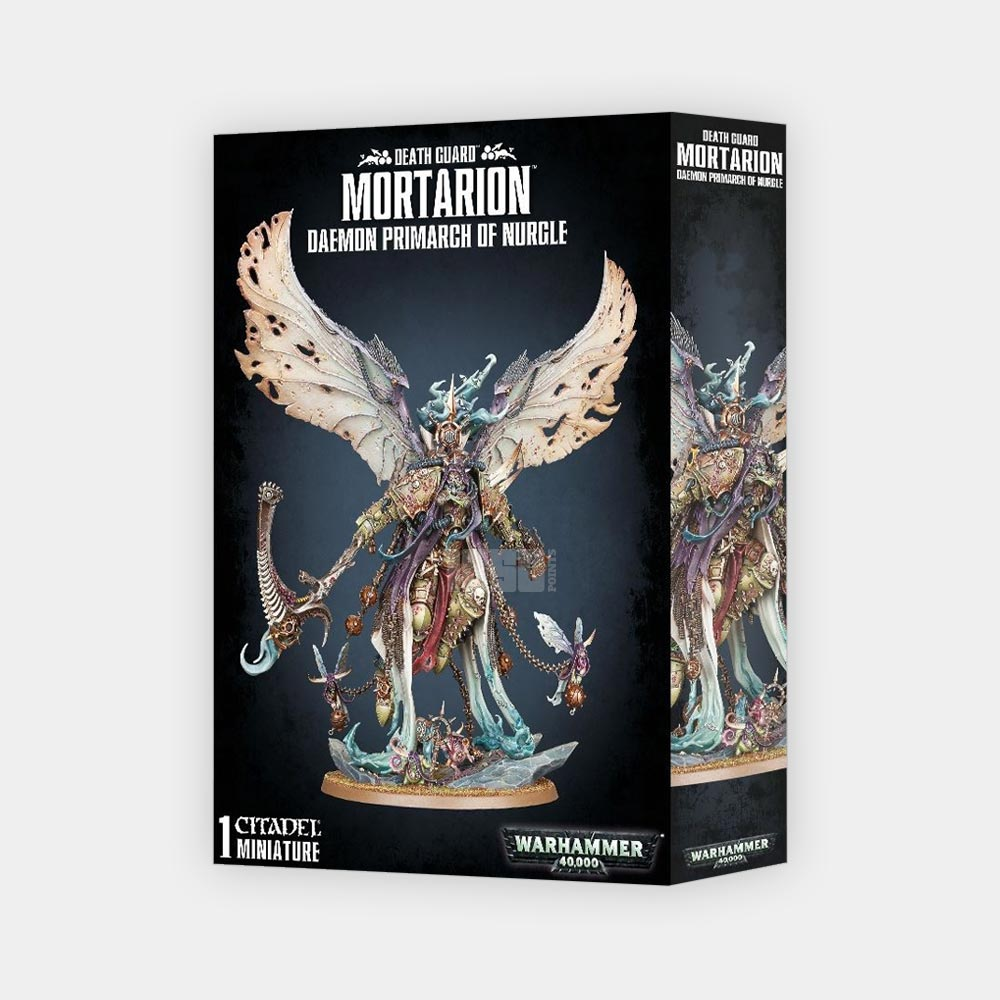 Death Guard Daemon Primarch Mortarion
