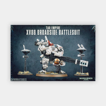 Tau Empire XV88 Broadside Battlesuit