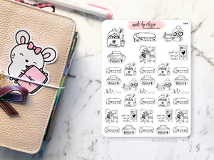 Shop Owner Milly // Planner Stickers