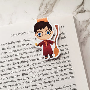 Quidditch Harry Magnetic Bookmark