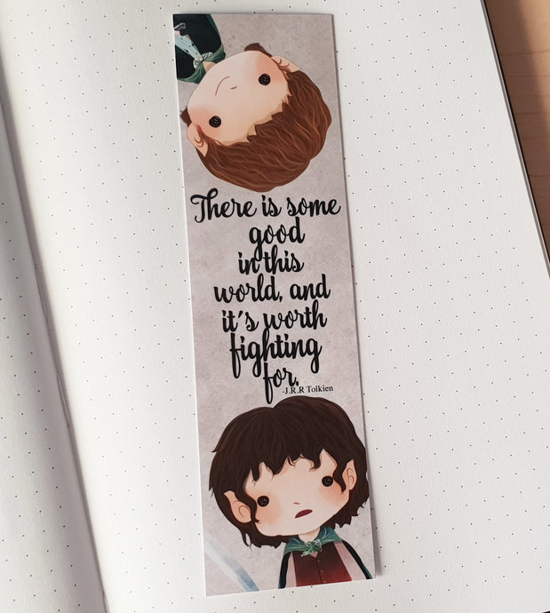 LOTR Quote Bookmark