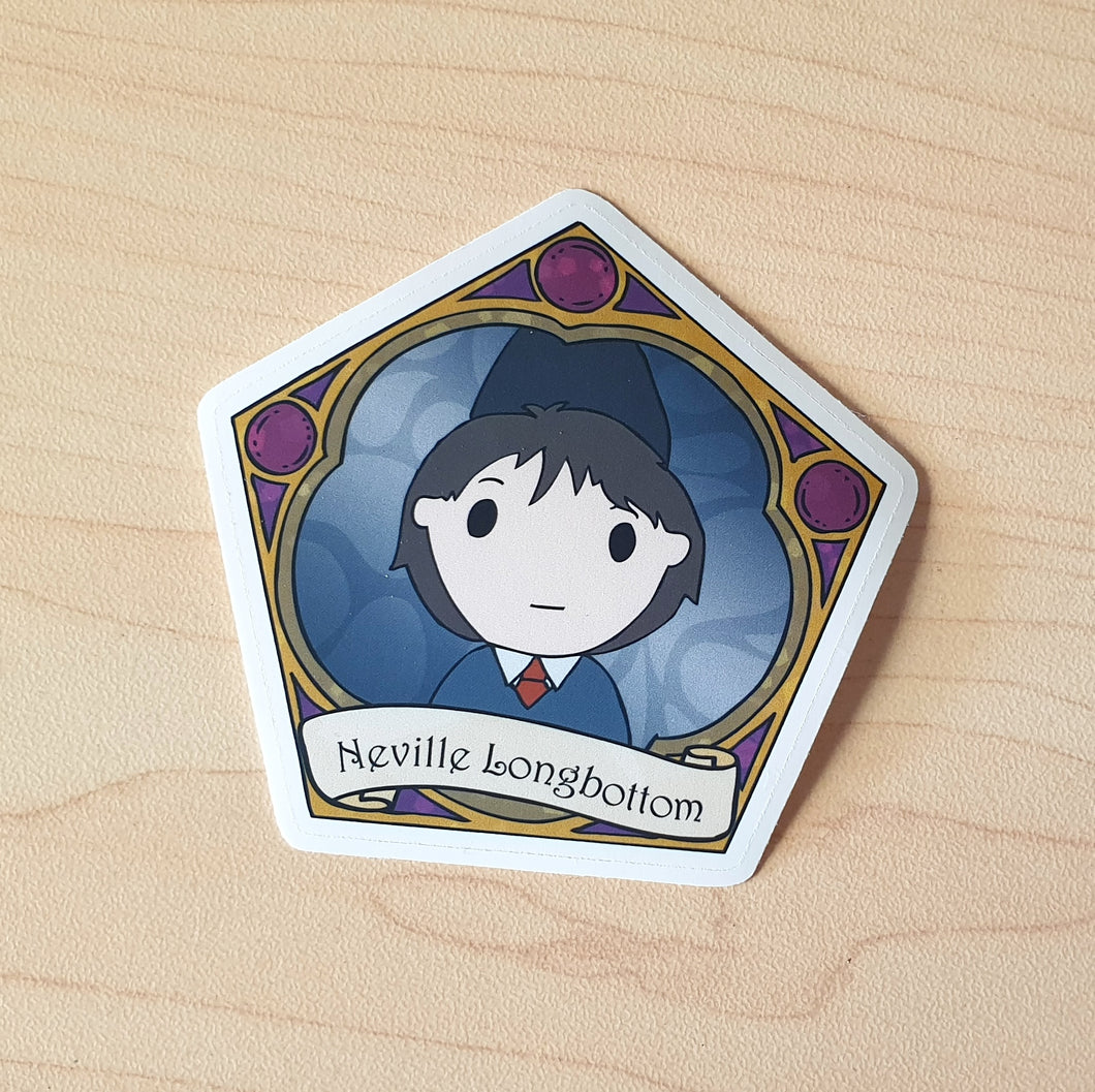 Boy Wizard Die-Cut Sticker