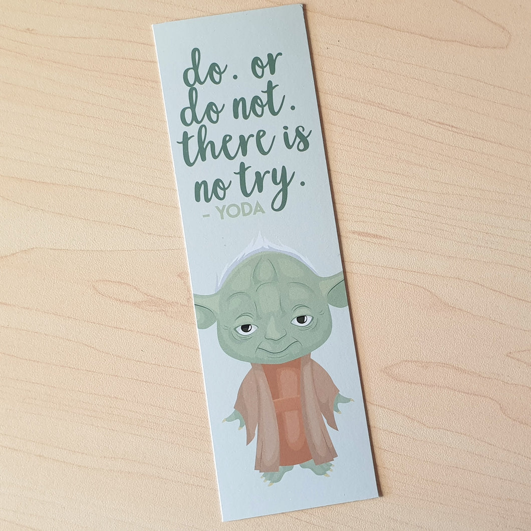 Star Wars Quote Bookmark