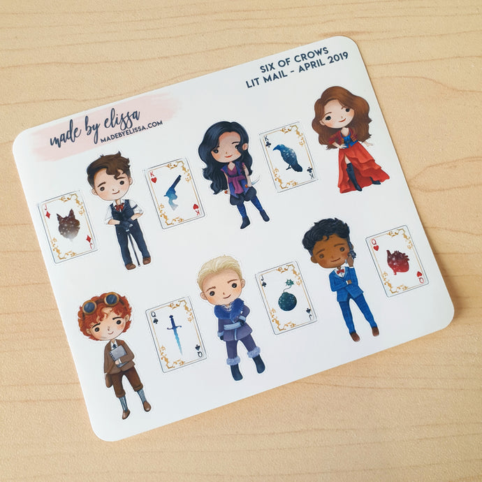 Six of Crows Stickers (Mini sheet)