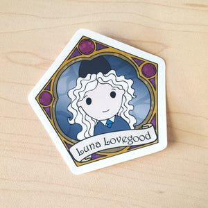 Luna Die-Cut Sticker