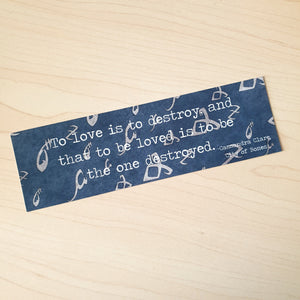 Shadowhunter Quote Bookmark