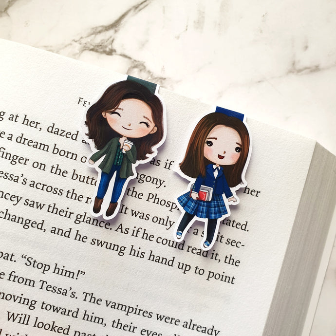 Rory & Lorelai Magnetic Bookmarks