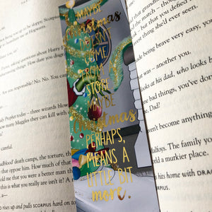 Christmas Foiled Bookmark