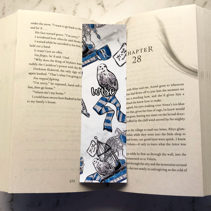 'Wise' Wizard Bookmark