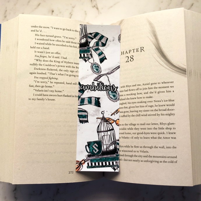 'Ambitious' Wizard Bookmark