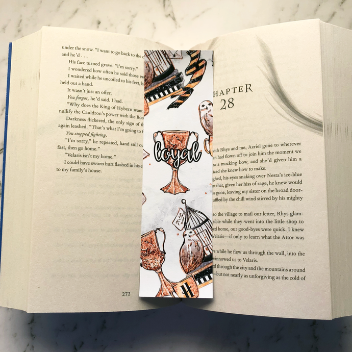 'Loyal' Wizard Bookmark