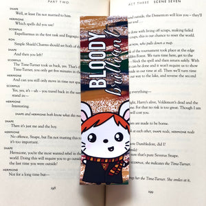 Bloody Brilliant Bookmark