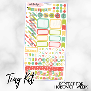 Muted Brights Weekly TINY KIT