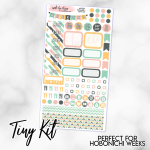 Muted Summer Weekly TINY KIT