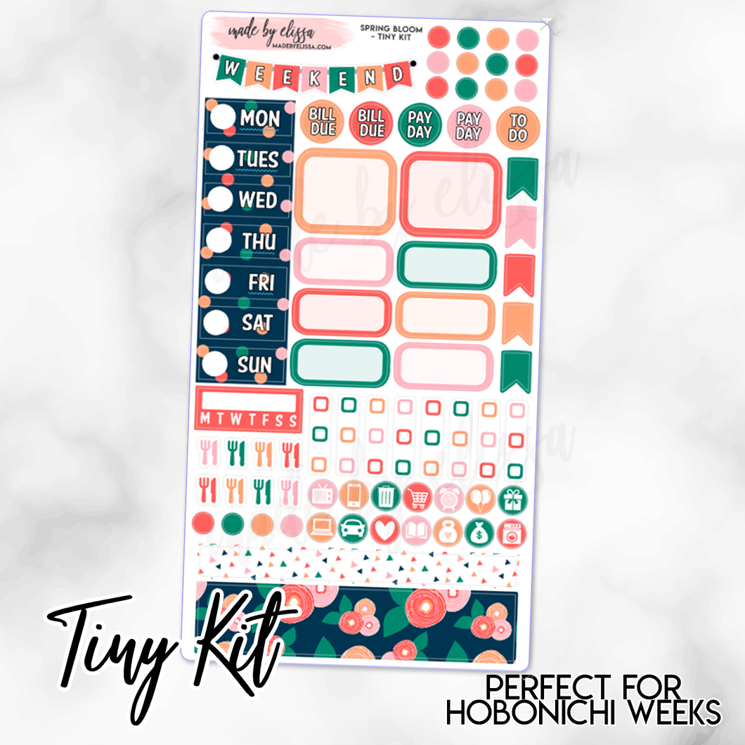 Spring Bloom Weekly TINY KIT