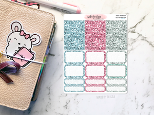 Treat Yourself Add-On - Glitter Stickers
