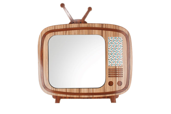 Retro TV Mirror