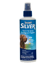 Sergeant's Silver Flea and Tick spray for Dogs and Puppies (01864)