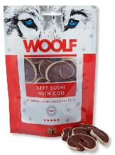 Woolf Beef Sushi with Cod Treats 100g