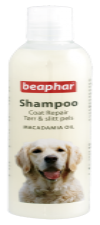 Beaphar Dog Macadamia Oil Shampoo 250ml