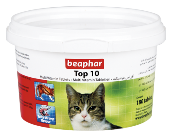 Beaphar Top 10 Cat Multi-vitamins