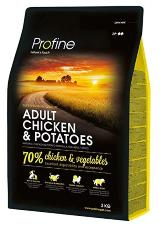 15kg Profine Adult Chicken & Potatoes