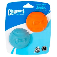 Chuckit Fetch Ball MED x 2pk 19400