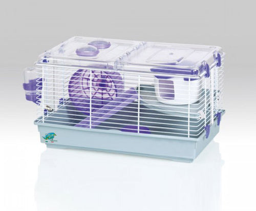 Small Mammal Cage - Large Purple