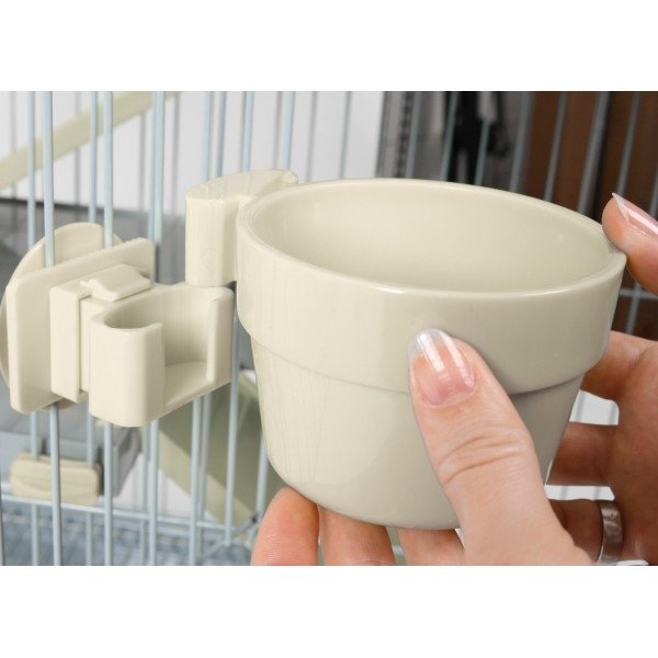 Zolux Door Fitting Beige Water Bowl 500ml