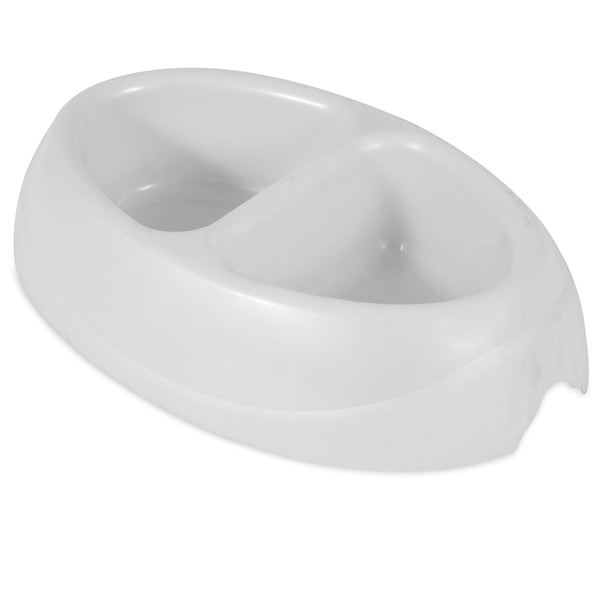 Petmate 7oz Lightweight Double Bowl (23047)