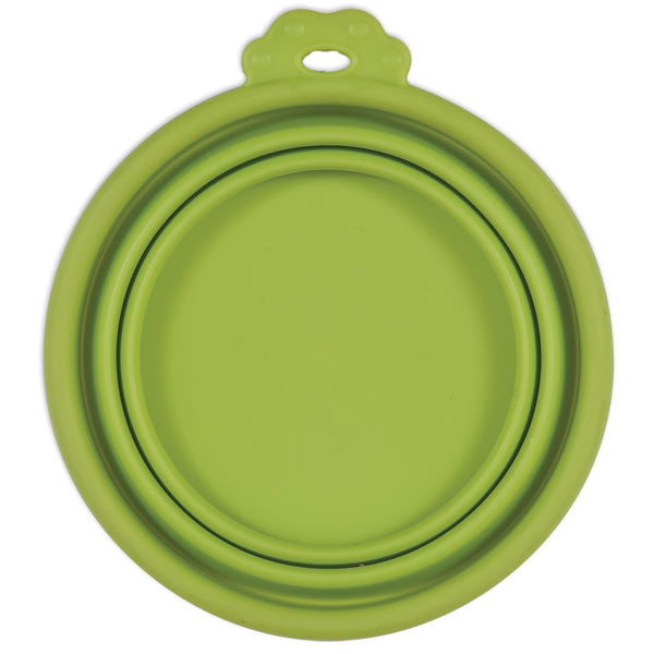 Petmate Silicone 3 cup (vol) Travel Bowls Green (23370)