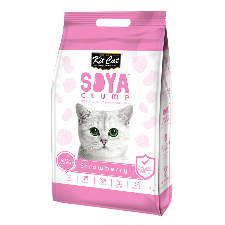 Strawberry Soya Clump Cat Litter 7Ltr