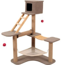Zolux Cat Park 3 Tier Tree 132 x 124 x 98cm