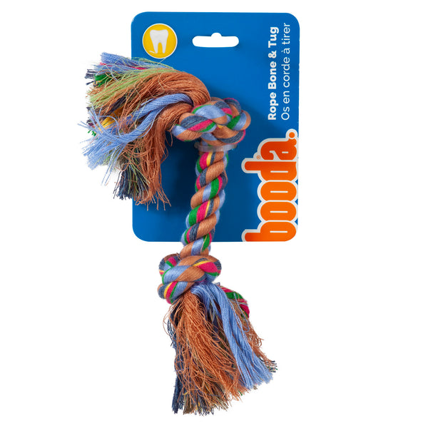 Booda 2 Knot Rope Tug Coloured X-Large 50774