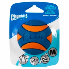 Chuckit! Ultra Squeaker Ball Medium 52068