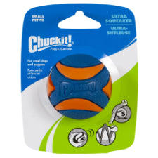 Chuckit! Ultra Squeaker Ball Small 52070