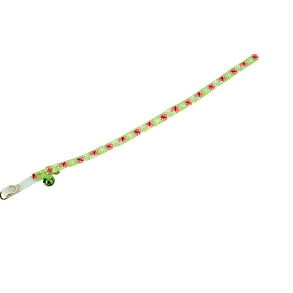 Zolux Butterfly Green Cat Collar with Bell
